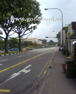 Upper Serangoon Road near Kovan MRT (NEL NE13) station