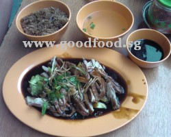 braised duck meat with rice