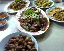 braised duck and other dishes
